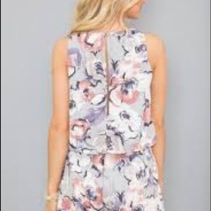 Other - You'll Be In My Heart Floral Romper